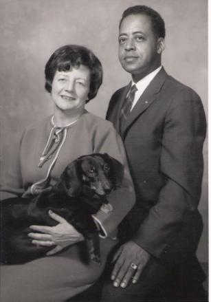 Betty and Barney with Delsey
